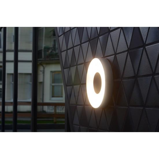 ΦΩΤΙΣΤΙΚΟ LED ΕΞΩΤΕΡΙΚΟΥ ΧΩΡΟΥ ΣΤΡΟΓΓΥΛΟ ΓΚΡΙ UBLO 6348101112 | LUTEC Πλαφονιέρες - Φωτιστικά Οροφής