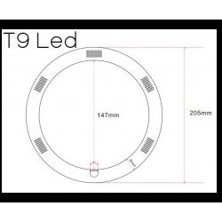 Κυκλικές LED T9