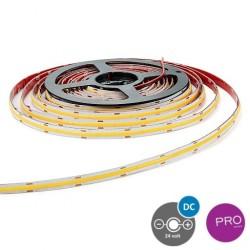 5 ΜΕΤΡΑ ΤΑΙΝΙΑ LED COB 5M 12W 24V 4000K IP20 PRO - EUROLAMP