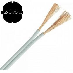 ΚΑΛΩΔΙΟ NYFAZ H03VH-H 2X0,75 mm2 - EUROLAMP