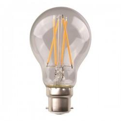 ΛΑΜΠΑ LED ΚΟΙΝΗ CROSSED FILAMENT 9W E27 220-240V CLEAR - EUROLAMP