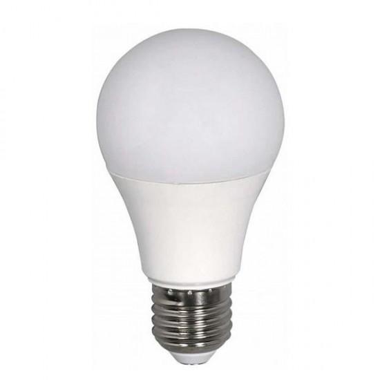 ΛΑΜΠΤΗΡΑΣ LED SMD 8W A60 Ε27 240V EUROLAMP Λάμπες LED Βιδωτές Ε27