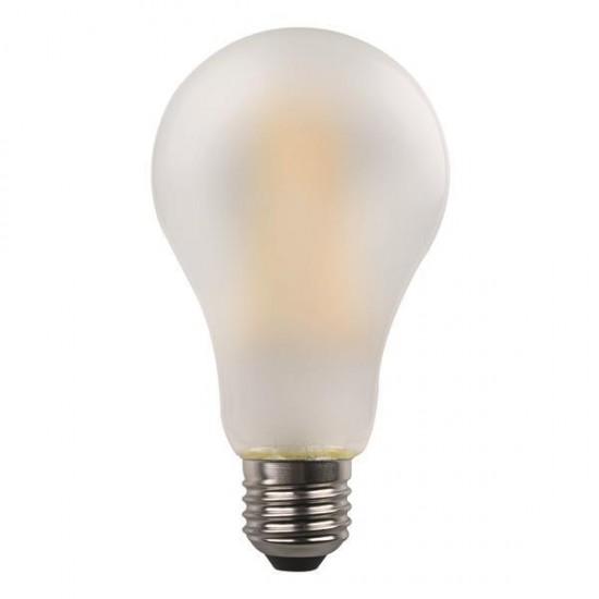 ΛΑΜΠΑ LED ΚΟΙΝΗ CROSSED FILAMENT 7W E27 3000K 220-240V FROST EUROLAMP Λάμπες LED Βιδωτές Ε27