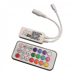 ΑΣΥΡΜΑΤΟ CONTROLLER RF Wifi RF RGBW 12A DC 12V/120W 24V/240W(MAX) - EUROLAMP