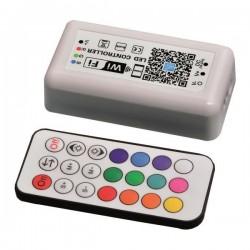 ΑΣΥΡΜΑΤΟ CONTROLLER RF Wifi RGB 12A DC 12V/120W 24V/240W(MAX) - EUROLAMP
