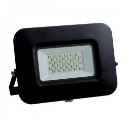 ΠΡΟΒΟΛΕΑΣ LED SMD ΒΑΣΗ 360° PLUS 30W ΜΑΥΡΟΣ IP65 PLUS - EUROLAMP