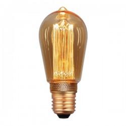 ΛΑΜΠΑ LED ST64 3.5W E27 2000K 220-240V GOLD DIMMABLE EUROLAMP