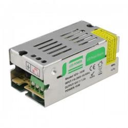 ΤΡΟΦΟΔΟΤΙΚΟ LED 12V DC 15W IP20 EUROLAMP